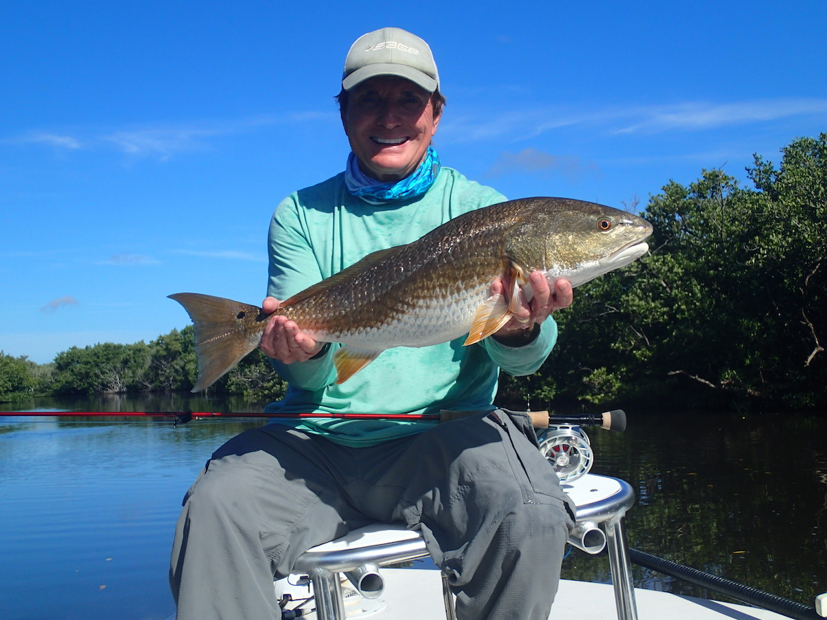Fishing for redfish in the everglades spirit of the fly for Trout fishing spots near me